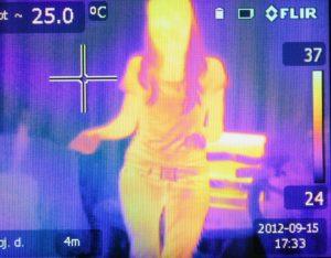 covid infrarossi calore